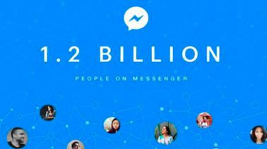 É gente demais! Facebook Messenger já tem 1,2 bilhão de usuários