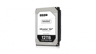 HGST anuncia disponibilidade do HD Ultrastar He12 com 12TB
