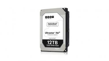 HGST anuncia disponibilidade do HD Ultrastar He12 com 12TB
