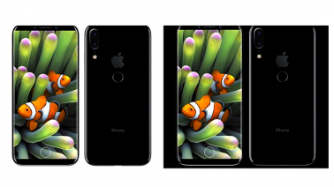 Vaza projeto do Apple iPhone 8: medidas, tela OLED e Touch ID na traseira