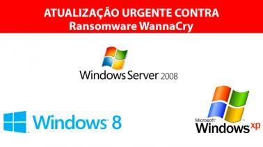 WannaCry Ransomware – Microsoft lança patchs emergenciais de segurança